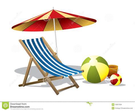 clipart beach chair and umbrella   Clipground
