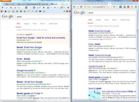 Google Images Looks Different   google search results page on my firefox looks different