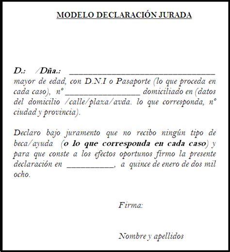 ejemplo declaracion jurada 1925 ejemplos de como llenar la declaracion jurada 1925