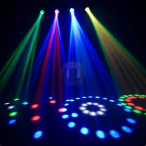 discount lights cheap chauvet 4play led moonflower dj disco light ebay