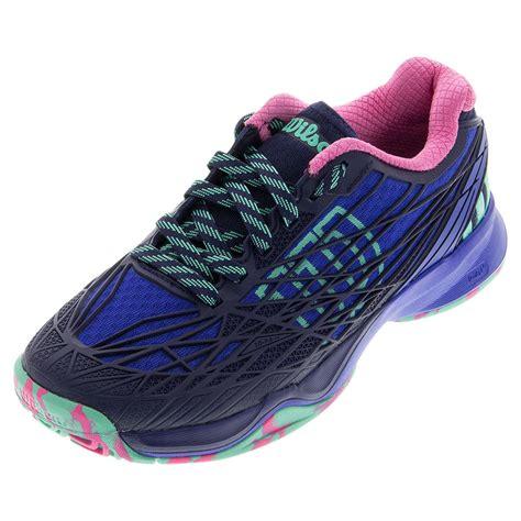tennis express wilson s kaos tennis shoes blue