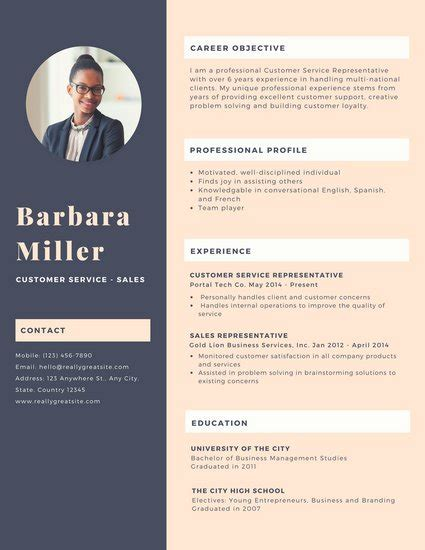 Customize 925 Resume Templates Online Canva Canva Resume Templates