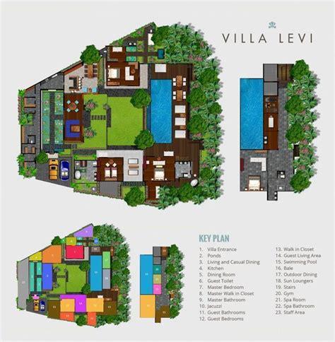 bali villa layout plan villa mieten levi in canggu von bali luxury villas
