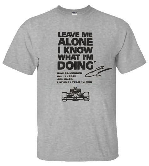 Oceanseven Tshirt Unisex All About Moto Gp 3 mens boys unisex t shirts kimi raikkonen leave me