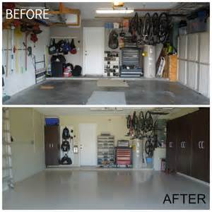 Two Car Garage Designs how to makeover your garage for less than 2 000 in 4 days