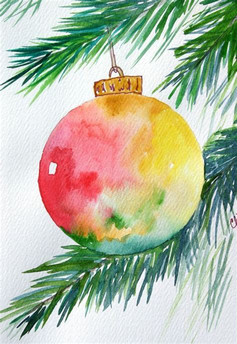 image result for watercolor christmas cards watercolor