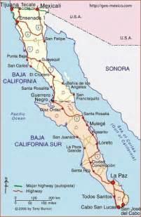 california peninsula map map of baja california peninsula geo mexico the