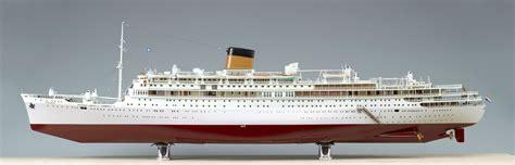 scheepvaartmuseum de oranje volmodel van het passagiersschip m s oranje