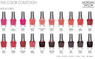 betty nails morgan taylor color chart