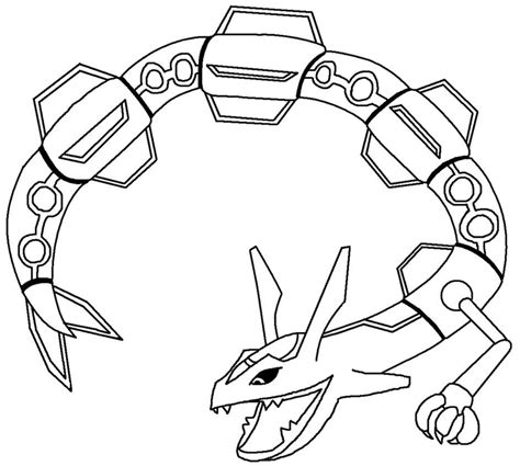 pokemon coloring pages rayquaza az coloring pages