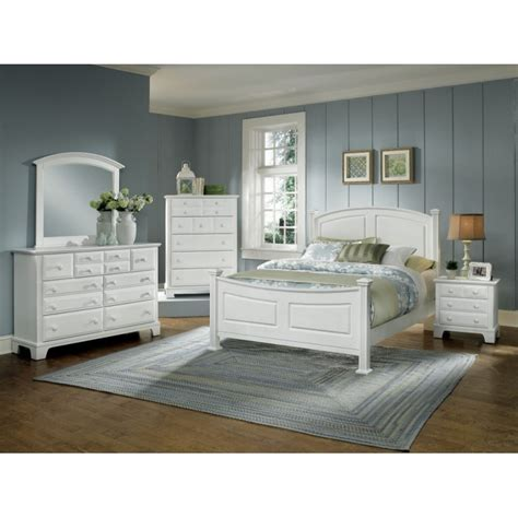 hamilton franklin bedroom collection white cedar hill