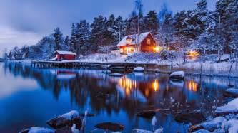 beautiful sweden landscape wallpaper