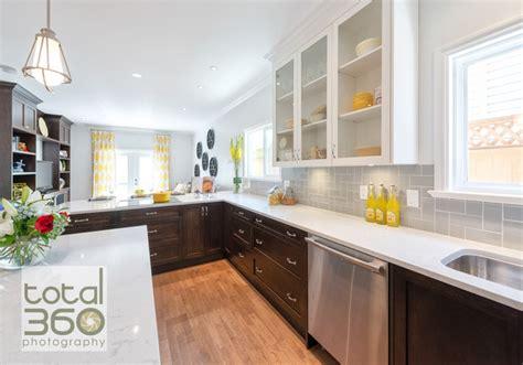 Tile Backsplash For Kitchens With Granite Countertops property brothers renovation modern kitchen
