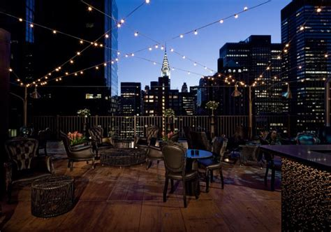 Top 10 Bars New York by Best Rooftop Bars In The World Top 10 Alux