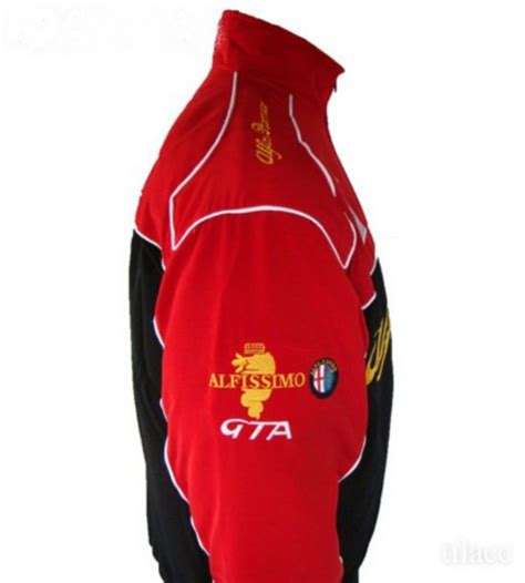 Alfa Romeo Jacket by Jacket Alfa Romeo Racing Team Black Bangkok
