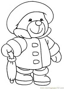 teddy coloring page teddy coloring page 001 4 coloring page free