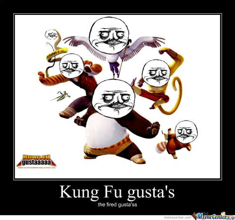 Meme Kung Fu - kung fu gusta by blazz 995 meme center