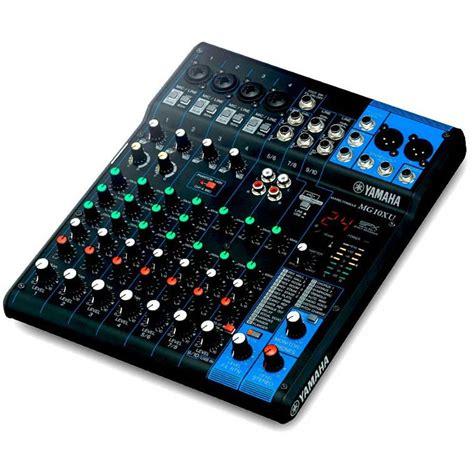 Mixer Yamaha Usb yamaha mg10xu 10 input mixer w fx usb audio interface knob version analogue mixers store dj