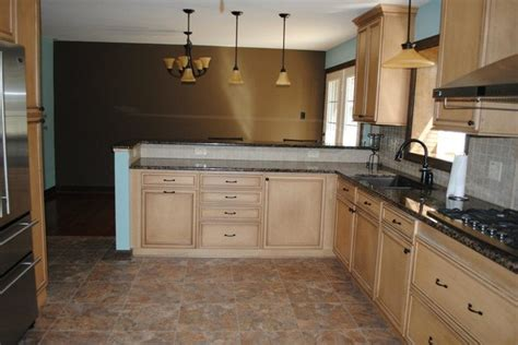 metro cabinet and flooring duraceramic floors baltic brown granite maple cabinets