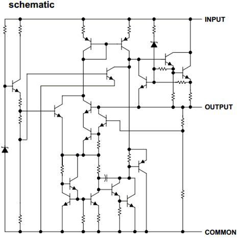 integrated circuit voltage regulators 7805 datasheet pdf positive voltage regulator ti