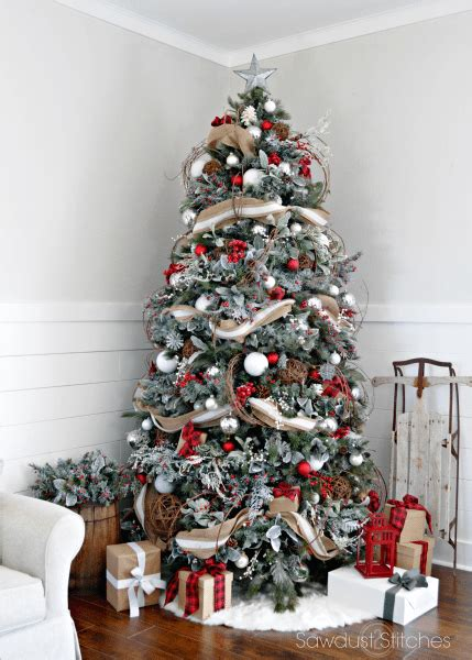 tree pick christmas pinterest trees and action rustic christmas tree sawdust 2 stitches