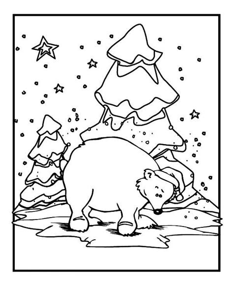 coloring pages animals in winter animals in winter printable worksheets sketch coloring page