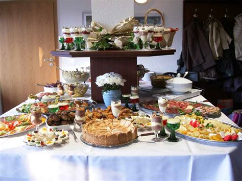 dinner party buffet ideas