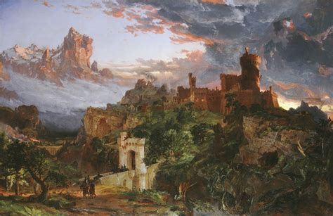 The Spirit War by Jasper Francis Cropsey The Spirit Of War 1851 Artsy