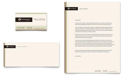 Free Finance Letterhead Financial Planner Business Card Letterhead Template Design