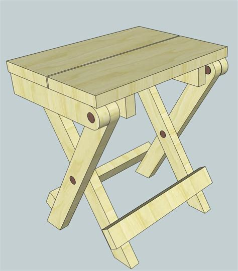 wooden folding table plans folding wood stool plans free ideas pdf ebook uk