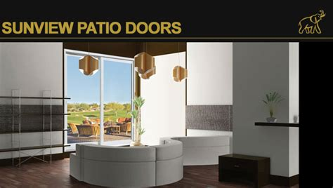 Sunview Patio Doors Sunview Doors Sunview Windows And Doors Provide New And