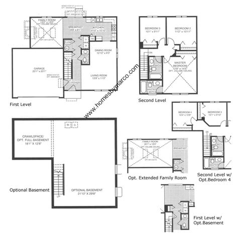 homes by marco floor plans lakewood creek subdivision in montgomery illinois homes