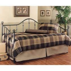 Iron Daybed With Trundle Chalet Black Iron Daybed Black Metal Daybeds Day Beds Trundle Bed Bedroom Furniture Reviews