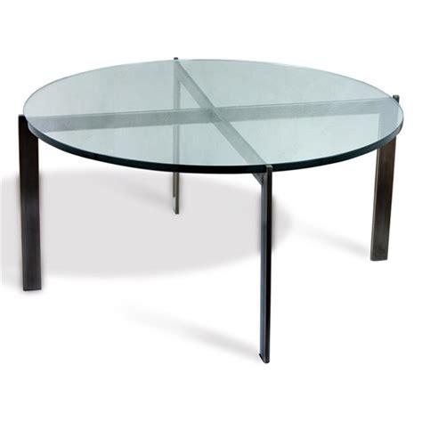 Morandi Modern Oil Rubbed Bronze Round Glass Coffee Table Bronze And Glass Coffee Table