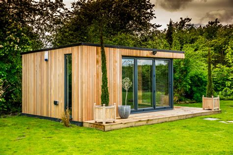 Garden Shed Living Room Bespoke Garden Room Wilmslow Cheshire Contemporary