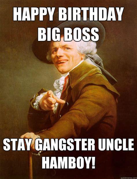 Happy Boss S Day Meme - happy birthday boss meme memes