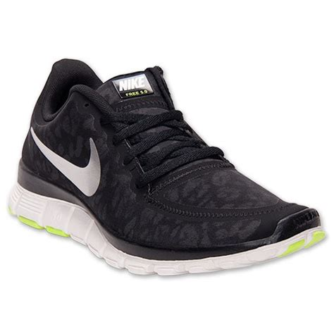 leopard nike running shoes black silver nike free 5 0 v4 leopard running