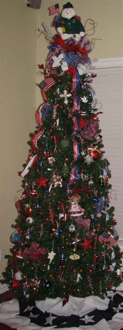 patriotic christmas tree christmas pinterest trees