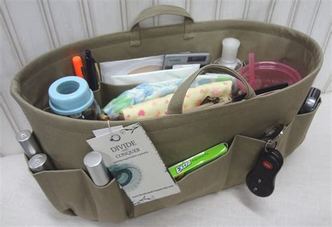 Hboklv Hanger Bag Organizer Karakter Lv purse insert bag organizer insert handles stiff wipe clean bottom 2 options