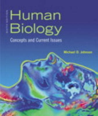 concepts of biology books human biology by michael d johnson reviews description