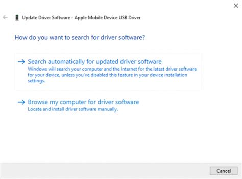 apple mobile device driver apple mobile device usb driver unspecified vkrepair