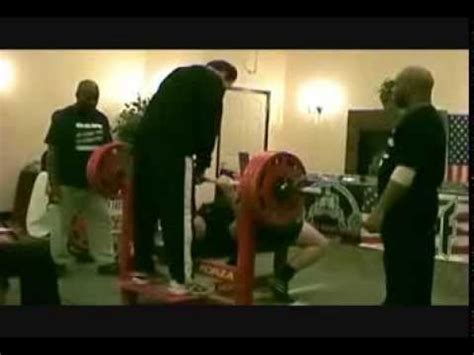 16 yr troy kay old sets world record for bench press youtube