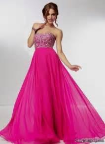 long pink prom dresses 2016 2017 b2b fashion
