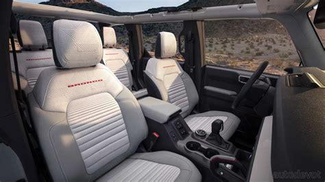 ford bronco debuts    door variant modular