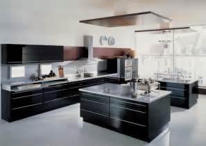contemporary kitchens black contemporary kitchen design