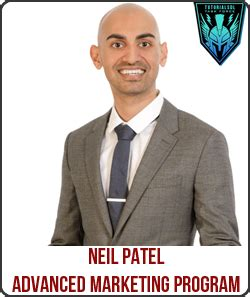 Neil Patel Mba Marketing by Neil Patel Advanced Marketing Program Digital