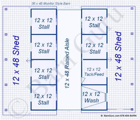 horse stall floor plans 6 stall horse barn plans