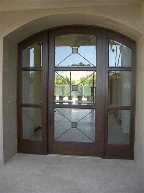 Frosted Glass Front Door Glass Doors Frosted Glass Front Entry Doors Cross Hatch Leaded Mediterranean Entry