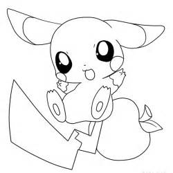 pokemon pikachu coloring pages free print