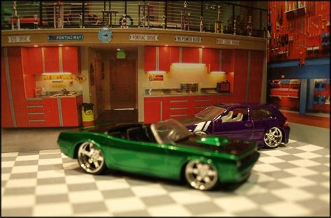 1 64 Scale Garage Diorama by Import Garage Diorama For Any 1 64 Scale Cars